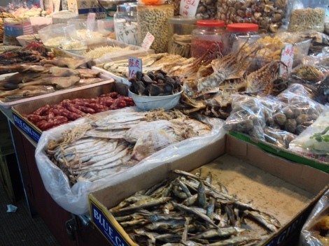 preserved meats and dried fish