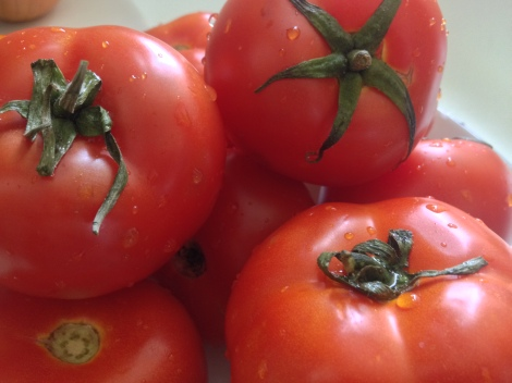 ripe tomatoes give more intense flavour