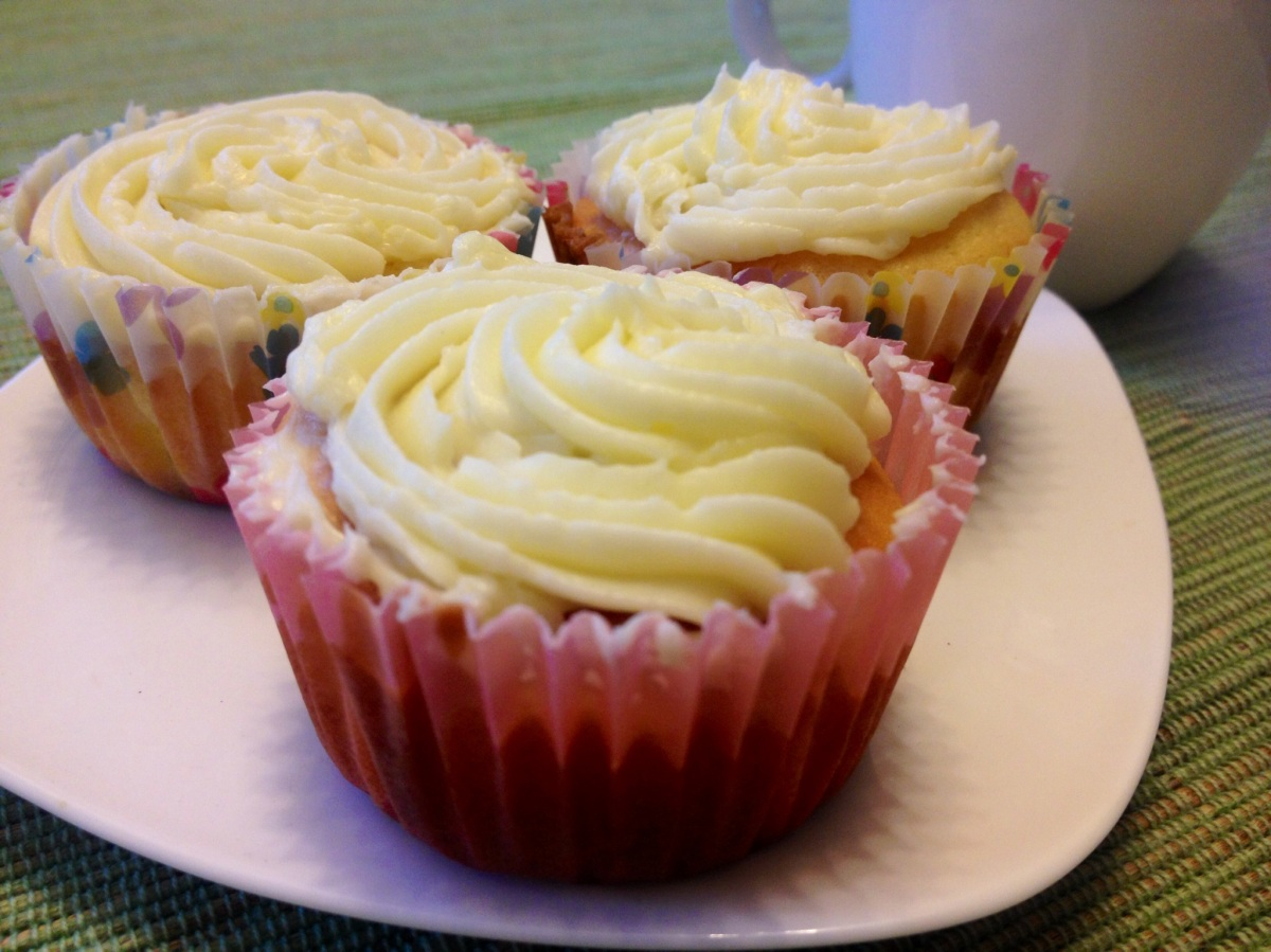 vanilla cupcakes | Homemade in Hong Kong