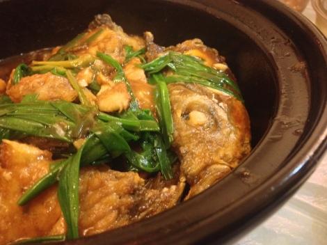 Clay pot fish homemade in hong kong for Clay pot fish
