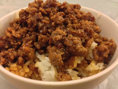 taiwanese minced meat