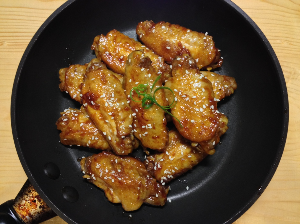 how to cook spicy homemade chicken wings
