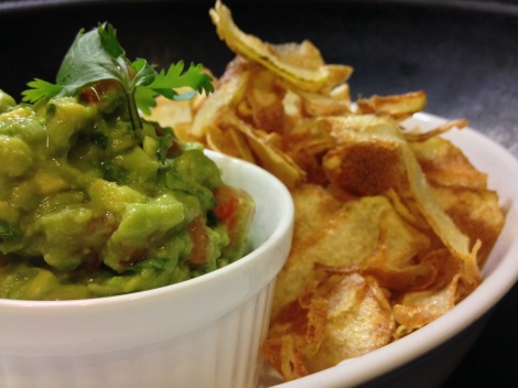 a great dip for chips. yes fried our own chips