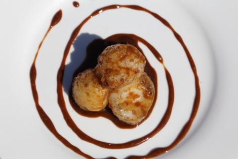 a local dessert: carioca