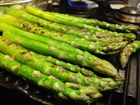 how to resist these fat asparagus