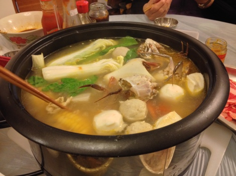 get your favorite meats and veggies for hotpot