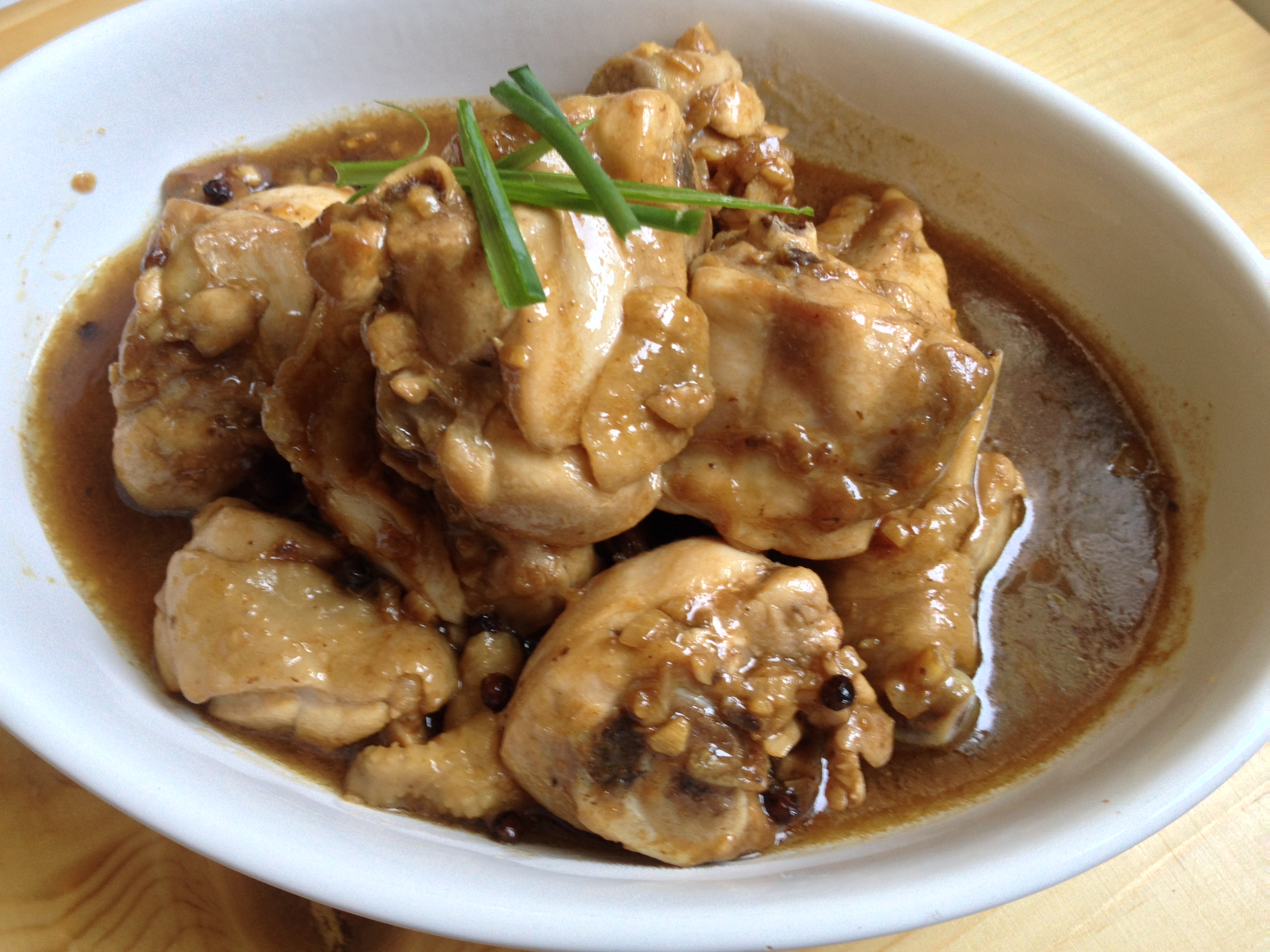 Chicken adobo homemade in hong kong for Adobo filipino cuisine