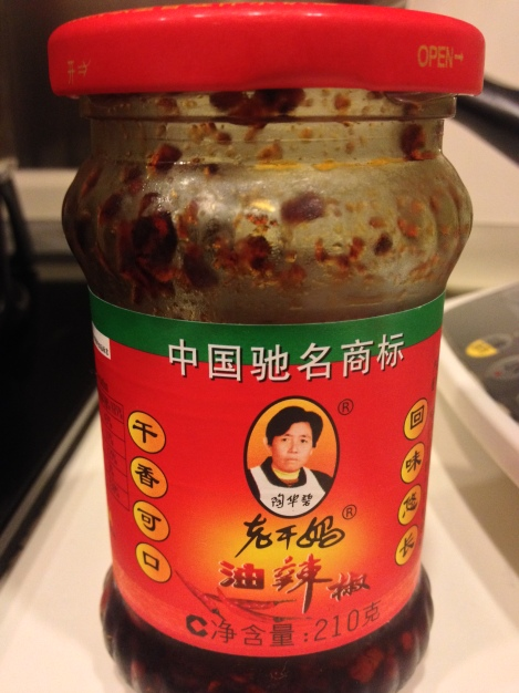 lao gan ma - my favourite chili sauce, so very popular in china