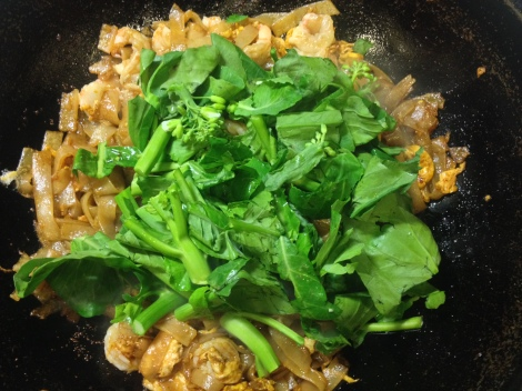 add the veggies last