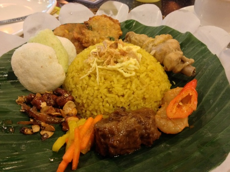 indonesian food is packed full of herbs and spices