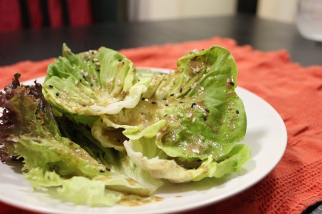 perfect on a bed of butter lettuce